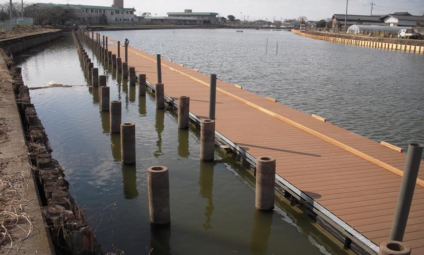 護岸及び桟橋復旧工事